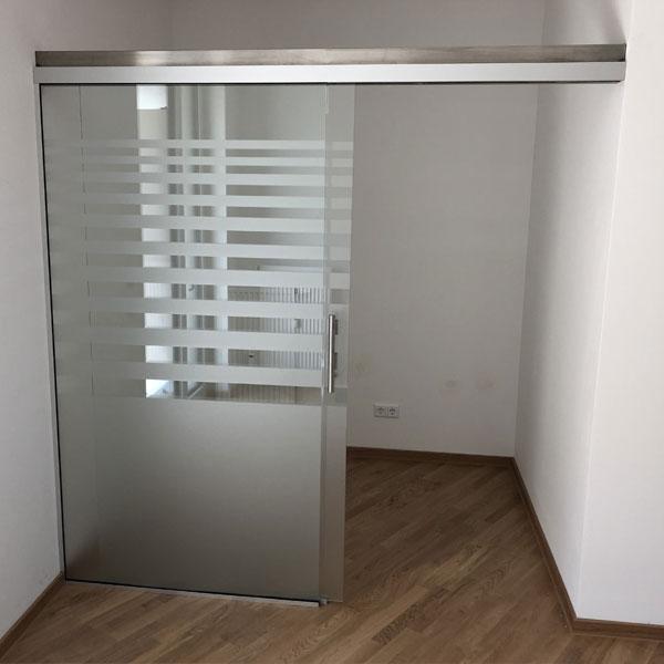 Glasbau-Raumteiler